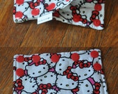Feeding Tube Connector Cover - Cover up the Connection to prevent messes!  - Ready to Ship. Hello Kitty