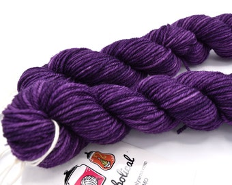 Byzantium Heels and Toes Mini Skeins Targhee Sock - In Stock