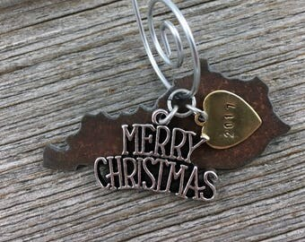KENTUCKY Christmas Ornament SMALL, Kentucky Ornament, Christmas Gifts 2017 Christmas Ornaments, KENTUCKY Ornaments, Personalized Gifts