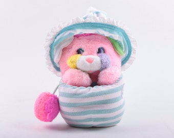 Popples, Baby, Plush, Flaw, Pink, Hat, Popple ~ The Pink Room ~ 161009