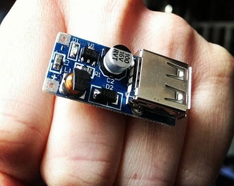 USB Circuit Board Ring