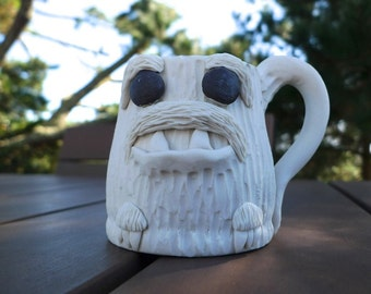 The Mighty Yeti, porcelain espresso cup