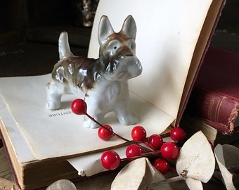 Vintage Scotty Dog Figurine - Dog 1950s