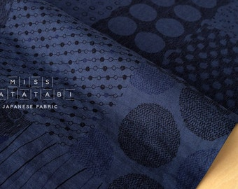 Japanese Fabric Blues double gauze - 50cm