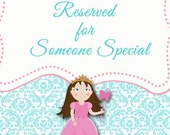 Reserved for Kayce