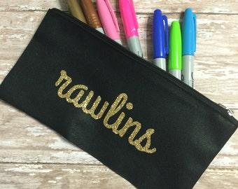 Personalizzato Pencil Case / Planner personalizzato caso / sacchetto di trucco personalizzato / Gazzetta Bullet Bag / Planner personalizzato sacchetto sacchetto a matita