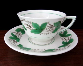 Royal Doulton Bone China Castleford Tea Cup And Saucer Set