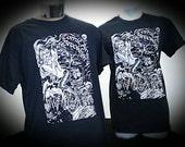 Dark Sea, mermaid, T-shirt, from Comic Arts Brooklyn, by, Dame Darcy