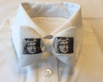 Jane Jacobs Pre-tied Adjustable Bow Tie,Urban Planning,Jane Jacobs,Cities,Grad,Prom,Bow Tie,