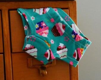 Cupcakes - custom children's underwear, hipster panties (made to order)