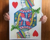 Queen of Hearts: January Print of the Month