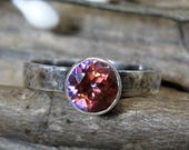 20% OFF Mothers Day Sale Anastasia topaz sterling silver ring