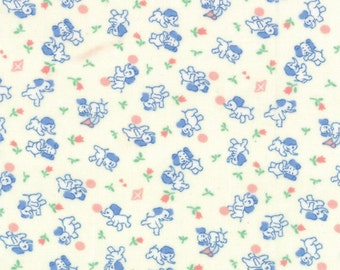 30's Playtime Favorites - From Chloe's Closet -Fabric For Moda - (32791 12) White - 1 Yard - 7.95 Dollars