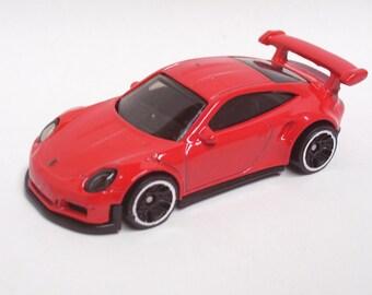 Hot Rod Magnet - Porsche 911 GT3 RS : Hot Rod, Man Cave, Refrigerator, Tool Box, Stocking Stuffer, Magnet