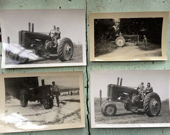 Vintage Tractor Photographs