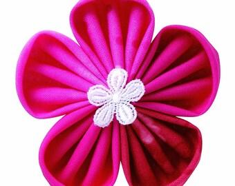 Kanzashi, Flower, Flower Maker, Orchid Petal, Flower Template, Scrapbook, Embellishment, Hair Accessories, Mixed Media, Sewing, Home Decor,