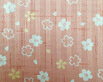 Sakura Cherry Blossom in pink Japanese dobby cotton fabric