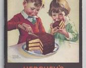 Vintage HERSHEY'S Index Recipe Book 1934