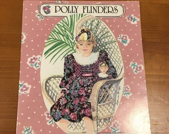 Polly Flinders Coloring Book Paper Dolls
