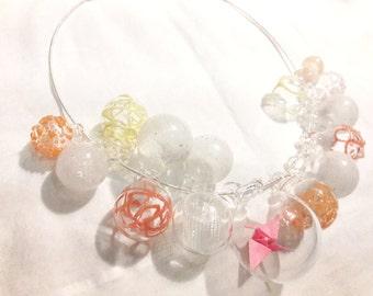 Spring Basket Necklace