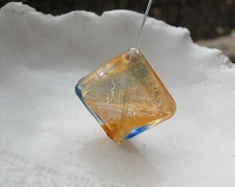 Murano Glass Diamond Bead - 26mm