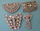 Jewelry DeStash Deco Rhinestone Clips