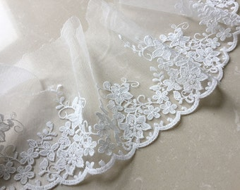 """6""""/15cm in width Beautiful  lace trim-NT09 by the yard"""