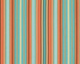 Amy Butler Fabric SALE, Belle Collection, Oxford Stripe Blue, 100% Cotton - HALF YARD