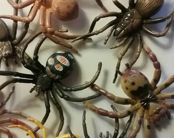Spider soaps   Big Spiders in a Big soap   Nature Center Party favor...Spider Birthday  party favor