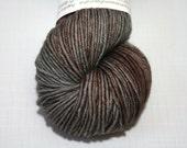 Hand Dyed Artisan Yarn, Tonal Kettle Dyed Yarn, Contrast Splash Yarn, SW Merino Wool/Cashmere/Nylon DK, Lovey Dovey #12317