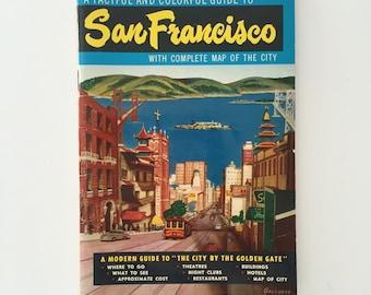 San Francisco Guide & Maps 1962