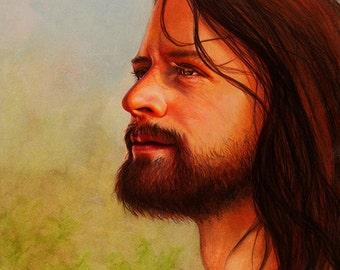 Portrait of the Savior - Fine Art Print