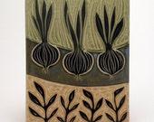 Garden Rows- 6x8 tile- Ruchika Madan