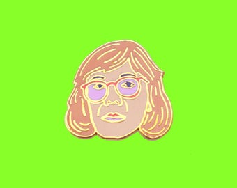 Lapel Pin Log Lady from the 90's classic Twin Peaks