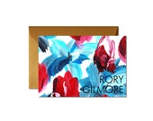 Personalized Folded Notecards Art Patterns - Set (8) / Gift for Her / Mother's Day / Stationery Set