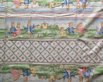 Peter Rabbit Margaret Tempest 2.5 Yards Infant Baby Nursery Cotton Fabric