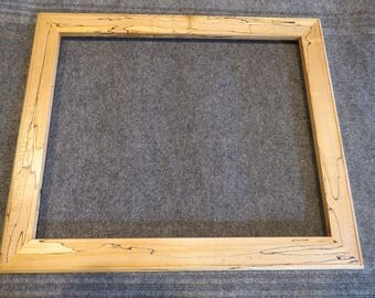 16 X 20 Quartersawn Spalted Maple Picture Frame