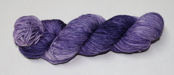 Night Shade Hand Dyed Sock Yarn