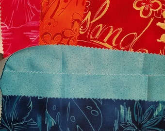 New fabric, quilt, quilting, sewing, fabric samples, approximately 1 1/4 yards total