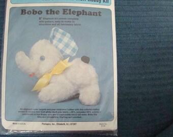 Stuf-Eez Bobo the Elephant Easy Stuffed Animal KIT