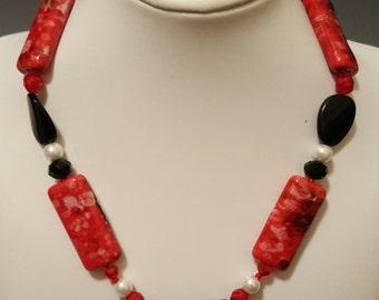 The Bold and Beautiful Necklace and Earrings