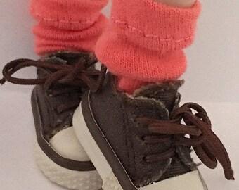 Short Coral Socks For Blythe...