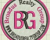Broadus Custom Digitized Embroidery Design (private listing)