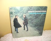 Simon and Garfunkel Sounds of Silence Vinyl Record Album NEAR MINT condition