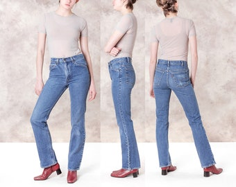 LEVIS jeans VINTAGE women HIGH waist Faded Boyfriend jeans denim / Better Stay Together / Size 5 / waist 29 30 / Better Stay together