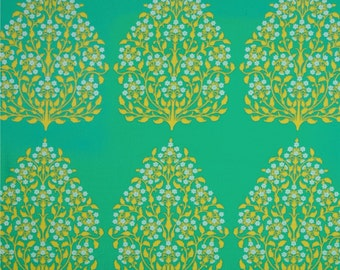 Amy Butler Lark Henna Trees Cotton Home Dec Fabric - fat 1/4 remnant