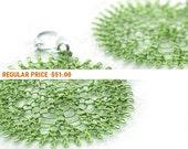 Holiday Sale - Wire crochet earrings  geometric Tribal  Fresh Green flower earrings , light to wear, spring fashion ,  Holiday , Flower P...