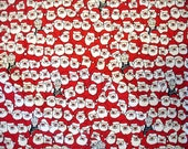 Christmas Fabric Destash – Where's Mrs. Claus? - 1/2 Yard, 100% Cotton