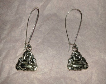 Meditating Buddha Earring