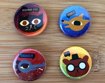 Night in the Woods Buttons